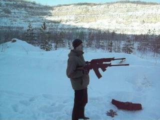 стрельба с двух вепрей))